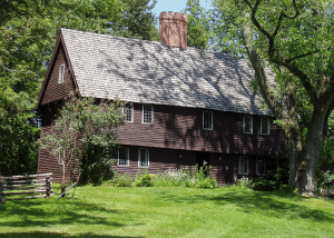 The Parson-Capen House, Topsfield, MA