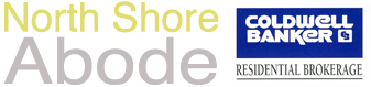 North Shore Abode Logo with Coldwell Banker Logo